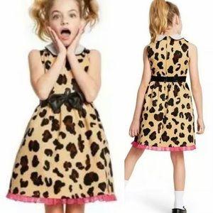 Harajuku Mini-Girls Leopard Print Dress-Sz XL